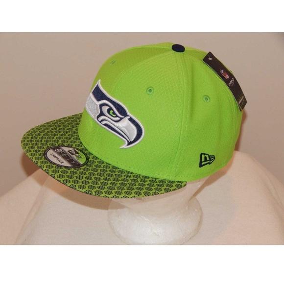 New Era Seattle Seahawks NFL 9 Fifty Snapback Hat c9cd06dc3